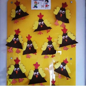 chicken craft idea for kids (7)
