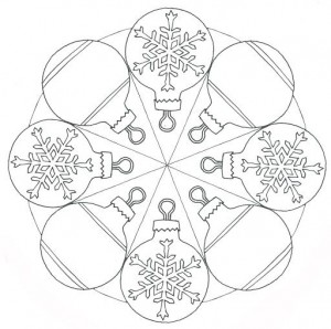 christmas mandala coloring page for kids (1)