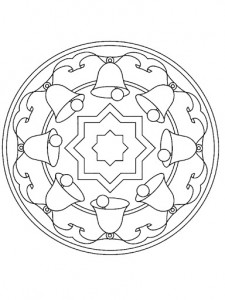 christmas mandala coloring page for kids (2)