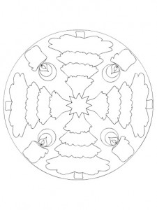 christmas mandala coloring page for kids (3)