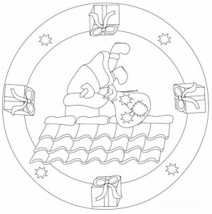 christmas mandala coloring pages (3)