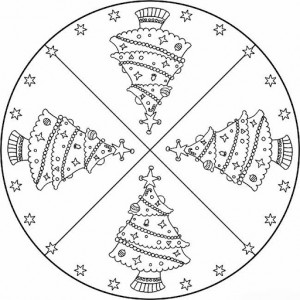 christmas tree mandala coloring page (3)