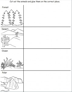 cut and paste animal habitat worksheet (1)