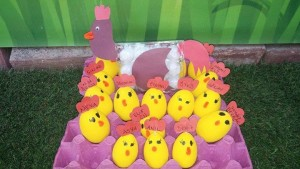 egg chick craft