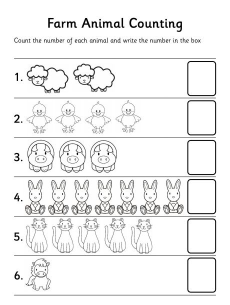 Animal Worksheet Crafts And Worksheets For Preschool Toddler And