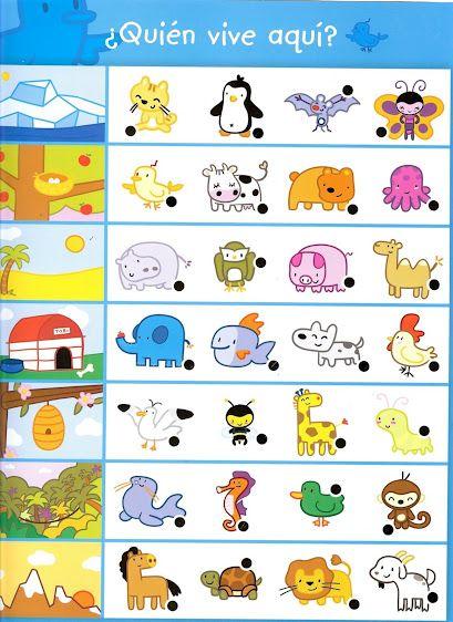 free printable animal habitat worksheet (2)