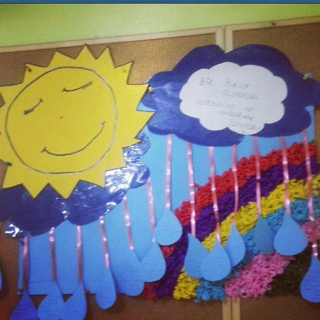 rainbow craft idea
