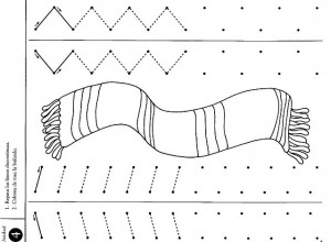 scarf trace line worksheet (2)