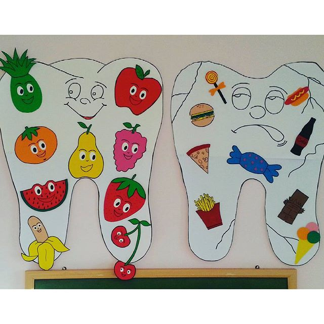 tooth craft for preschool (1)