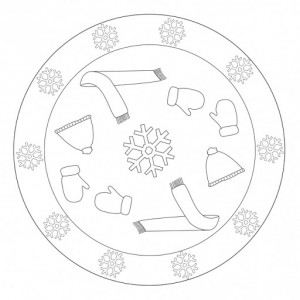 winter mandala coloring pages (1)