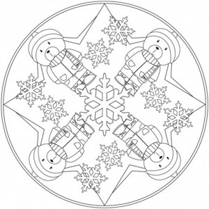 winter mandala coloring pages for kids crafts and worksheets for