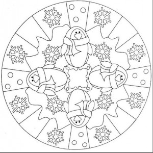 winter season mandala coloring (3)