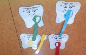 Dental Health Month craft (2)