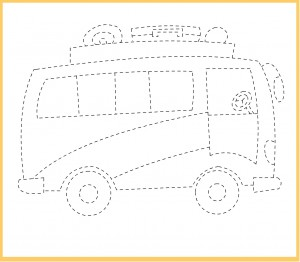 Transportation Trace Worksheet Crafts And Worksheets For