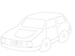 car tracing worksheet