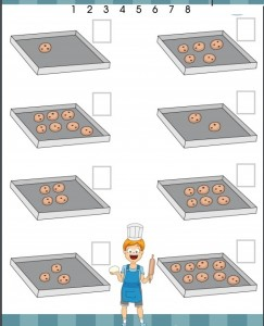 cooker number count worksheet
