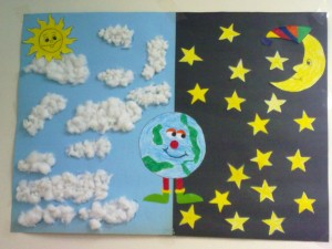 Day And Night Craft Idea For Kids Crafts Worksheets