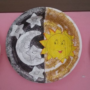 day and night craft idea for kids (2)