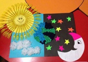 day and night craft idea for kindergarten (2)