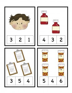 doctor number count worksheet