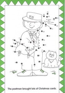 dot to dot postman worksheet