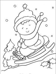 free printable winter coloring page (2)