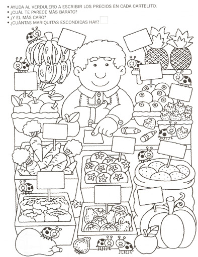 greengrocer number count worksheet