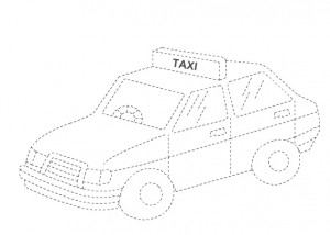 taxi trace worksheet