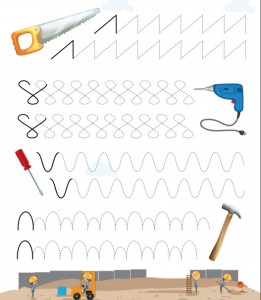 tools trace worksheet for kids (3)