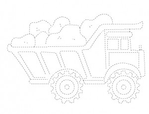 truck trace worksheet