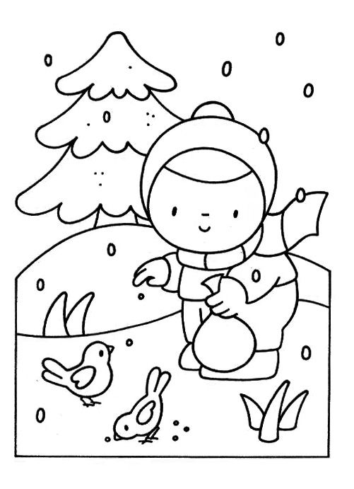 winter coloring page for kid (4)