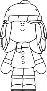 winter season coloring page (1)