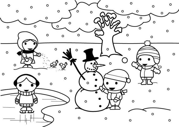 winter season coloring page (5)