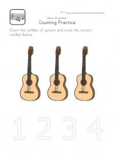 Printable Music Worksheets for Kids
