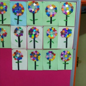 cd flower craft (2)