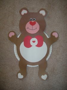 heart bear craft idea (2)
