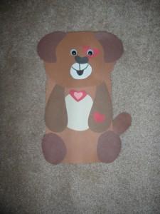 heart bear craft idea (3)