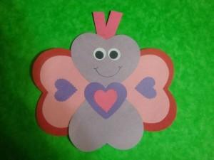 heart butterfly craft (3)