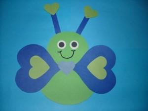 heart butterfly craft (4)