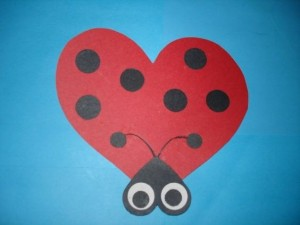 heart butterfly lady bug for valentine day (2)