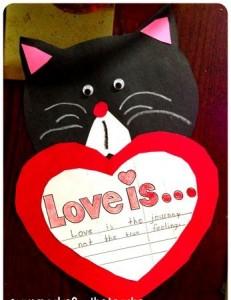 heart cat craft (3)