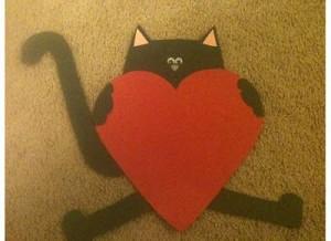 heart cat craft (4)