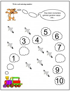 missing number worksheet for kids (12)