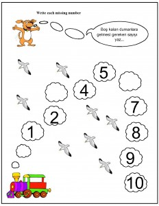 missing number worksheet for kids (13)