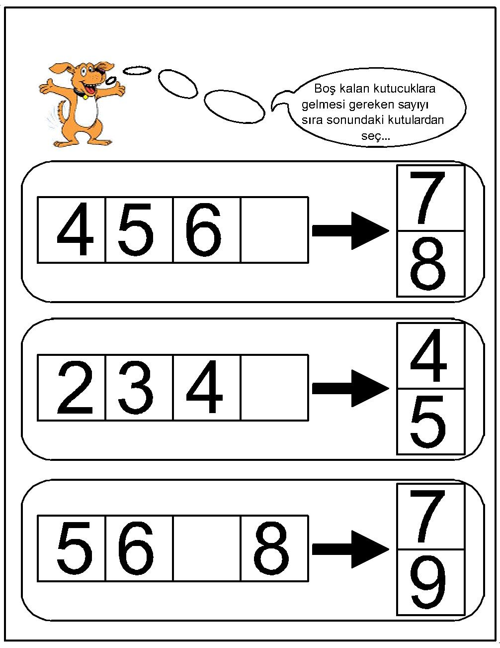 worksheet Missing Number Worksheets For Kindergarten missing number worksheet for kids1 10 crafts and worksheets kids 32