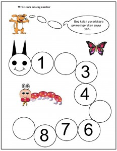 missing number worksheet for kids (5)