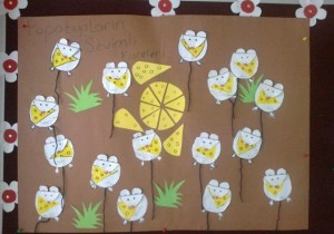 mouse bulletin board idea for kids