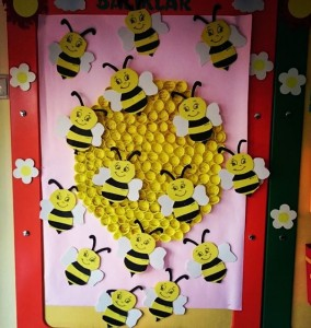 spring bulletin board idea (1)