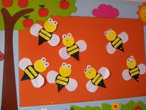 spring bulletin board idea (2)