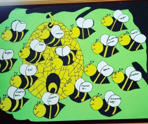 spring bulletin board idea (3)